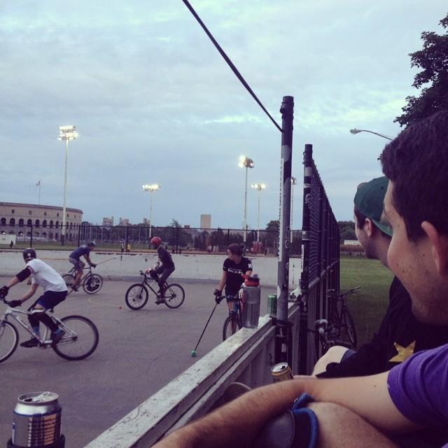 #bostonbikepolo #bikepolo #lakings #stanleycup