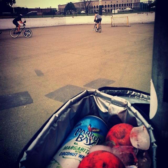 #oddballs @fixcraft #sundayschool #bikepolo #bostonbikepolo