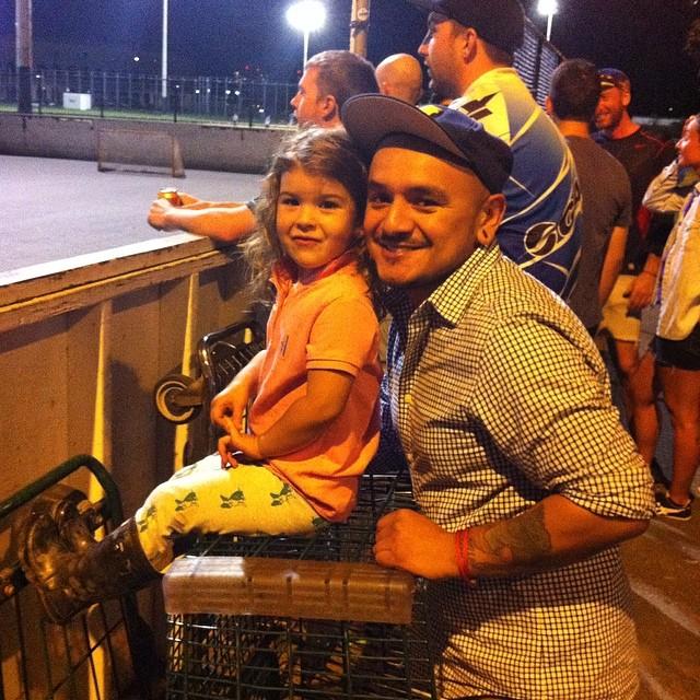 Polo night w/ luna and Pedro @pedroa32 #bostonbikepolo @ricknegan
