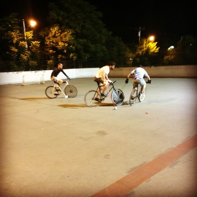 Wednesday polo. #bostonbikepolo #allston #chirpchirp