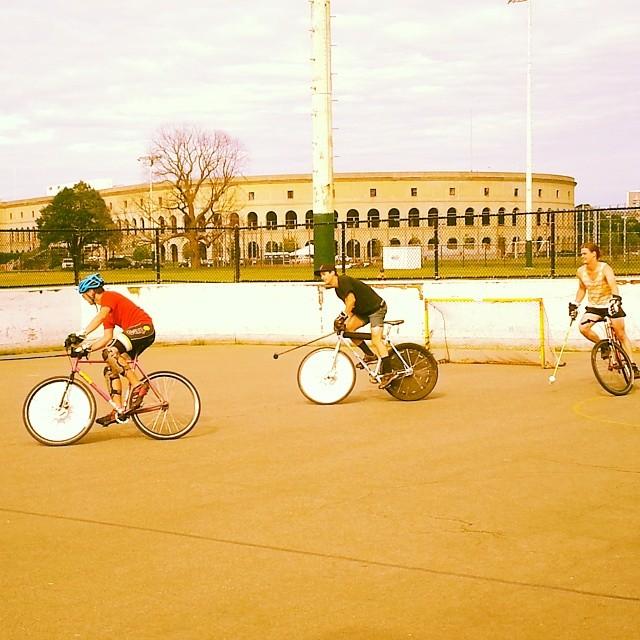 #limonpepino #bostonbikepolo #bikepolo