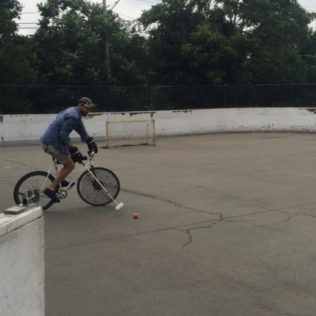 @bearcat2004 #bostonbikepolo