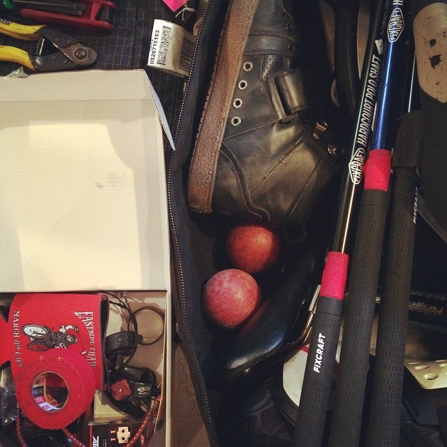 Obligatory packing gram #whbpc #bostonbikepolo #ratkingpolo #fixcraft #dzrshoes @fixcraft @dzrshoes