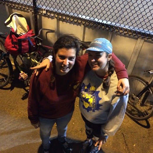 I met Charlotte in Berlin in 2013 while playing Mallet Dolorosa. And BOOM we saw each other again last week in Boston. Thanks so much for lending me your bike several times!