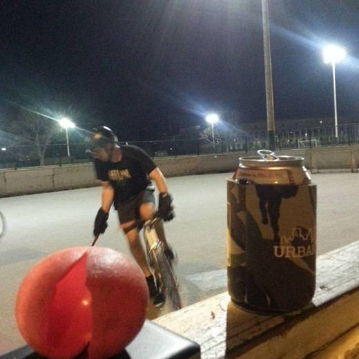 Bostonbikepolo we broke a summer ball but its still weather.
