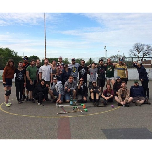Wow, we had such a great time at our Salad Mixer tourney with the fabulous folks from #NYCbikepolo. Thanks for coming!!!!!