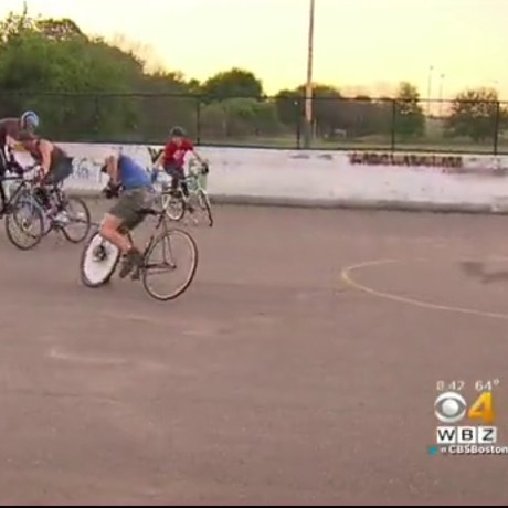 We were on TV! Check it out: http://boston.cbslocal.com/video/3699807-bike-polo-is-cyclings-best-kept-secret/ #cablenews #cbslocal #bostonbikepolo #boston